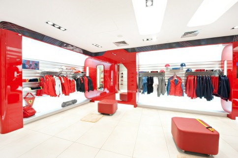 Ferrari Woman clothing