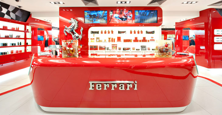 Kiev Ferrari Store is the first in the CIS official clothing and  accessories shop of the 88b48e3602